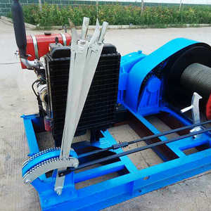 Gasoline Powered Winch