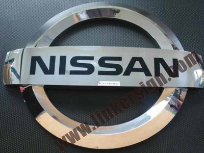 3D outdoor signs car logo