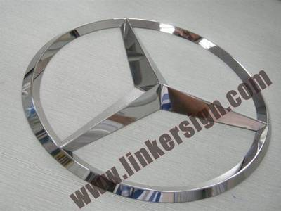 3D advertising car logo signage