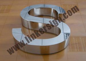 mirror stainless steel letter signage with high quality and competitive prices