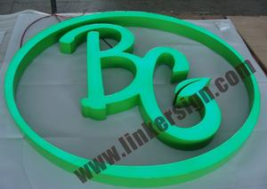 illuminated letter signage ,professional manufacture of letter signs