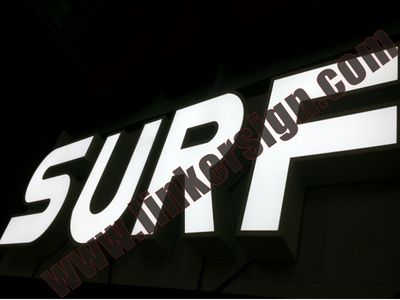 led sign letters for Australia and New zealand
