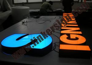 advertising letter signs with high quality and competitive prices