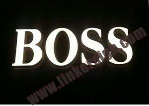led sign letters with high quality and competitive prices