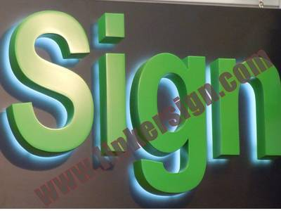 lighted advertising signs