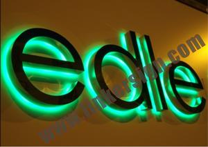 halo lit metal led letters with high quality and competitive prices