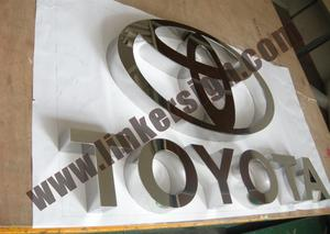 custom metal sign letters with high quality