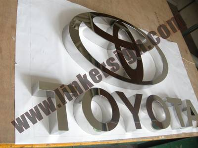 custom metal sign letters