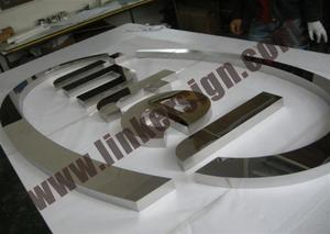 stainless steel letters signs with high quality and competitive prices