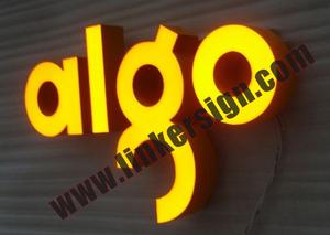 3D build up customized sign letters with high quality and competitive prices