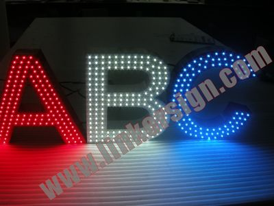 exterior fabricated letter signs