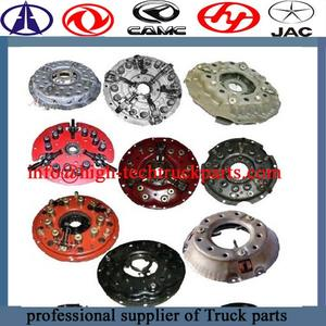 Truck Clutch Disc 491878003732 For  Beiben,Shacman,CAMC, Hongyan, Dongfeng