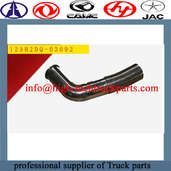 CAMC Muffler intake pipe can block the propagation of sound waves