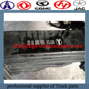 beiben truck complet front leaf spring  is the most widely used elastic element
