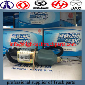 weichai engine Solenoid valve Is an automated basic element