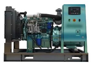 Good Quality Fuel Tank Gen-set Weichai Land Based Diesel Generating Sets WP4.1D66E200 Genuine Basic Gen-set