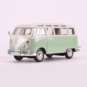 Simulación de aleación de coche modelo 1972 Volkswagen bus Volkswagen van modelo