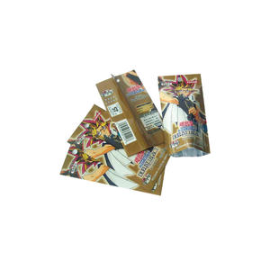Popular Japanese Cartoon Figurine Packaging Mylar Foil Bags
