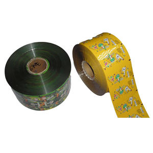 Roll Stock Film , Printed Roll Film Factory