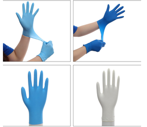 Disposable Medical Gloves Latex / Nitrile/ Vinyl Examination Gloves