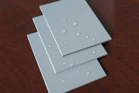 nacreous aluminum composite panel