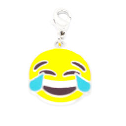 Wholesale handmade enamel emoji charms, enamel custom jewelry (personalized charm)