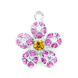 China fashion crystal pendants jewelry for necklaces  (Crystal charms)