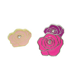 Direct manufacturer produce wholesale custom enamel metal women lapel pin (lapel pins china)