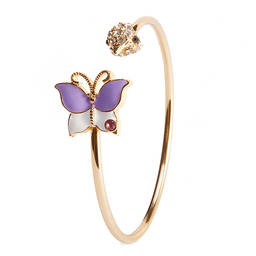Gold plated brass spring bangle cuff manufacturer (bracelet cuff factory)