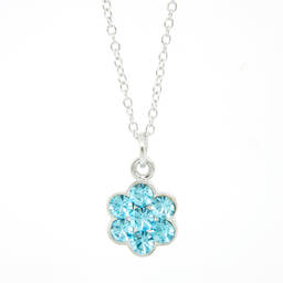 Metal alloy cheap crystal necklaces for women (necklace jewelry)