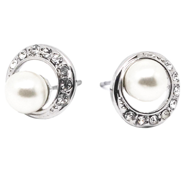 Fashion jewelry pearl stud earrings for party (pearl earring)