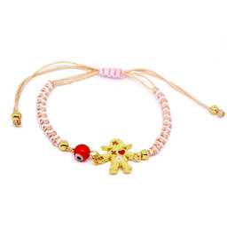 Wholesale Metal baby girl charms connected bracelet (girls bracelet)