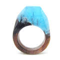 natural wood rings