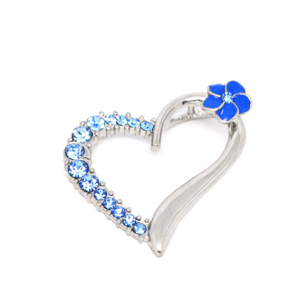 Classic design alloy custom heart charms manufacturer (heart charm)