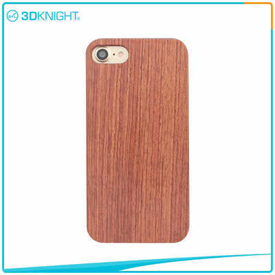 Customized  Wood Phone Cover For Iphone 7 7 Plus Rosewood Phone Cover
