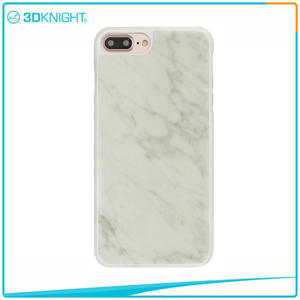 3D KNIGHT | Customized  White Marble Case for  iPhone 7 Plus