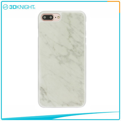 Handmade White Marble Case for  iPhone 7 Plus case,waterproof for iPhone 7 Plus Marble Case