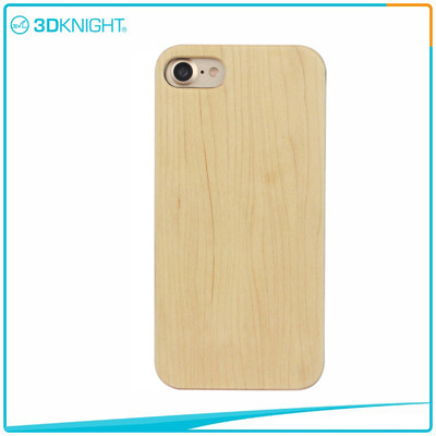 Customized Laser Engraving Maple Wood Phone Case For Iphone 7 7 Plus Cases