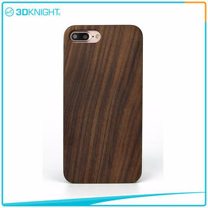 3D KNIGHT | Handmade Walnut Phone Case For Iphone 7 Plus Real Wood Series