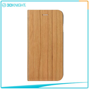 3D KNIGHT |  Quality Shock Proof Case For Iphone, Flip Wooden Phone Case