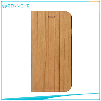 Hot Sale Quality Shock Proof Case For Iphone, Flip Wooden Phone Case