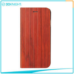 Hot Sale Quality Shock Proof Case For Iphone, Flip Wood Phone Case