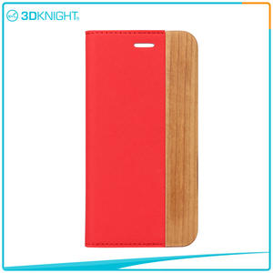 3D KNIGHT |  Quality Shock Proof Case For Iphone, Flip Wood iPhone 7 Case