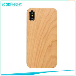 Handmade Wholesale Customized Laser Engraving Wood Iphone X Case