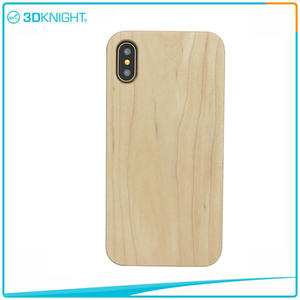 3D KNIGHT | Customized Laser Engraving Wood IphoneX Case