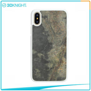 high quality 3D KNIGHT | Natural IPhoneX Stone Case Real Stone Handmade factory
