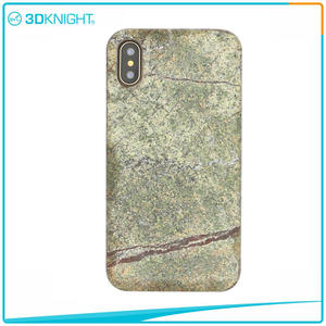 3D KNIGHT | Natural Stone Case For IPhone X Real Stone