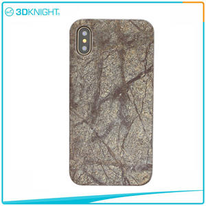3D KNIGHT | Natural Stone Phone Case For IPhone X Real Stone