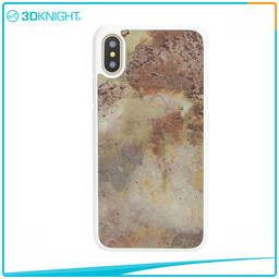 Natural Stone IPhone Case Handmade Real Stone For IPhone X