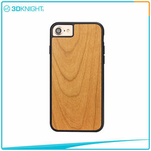 high quality Cherry Wood Phone Case For Iphone 7 7 Plus Wood Case manufacturers